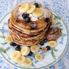 banana blueberry pancakes u2013 plant based on a budget
