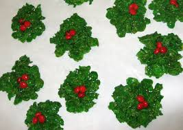 christmas holly treats recipe genius kitchen