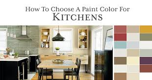 how to choose the right paint color for a kitchen