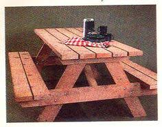 Building Plans For Small Picnic Table by 10 U0027 Picnic Tables Instructions Allow For Personal Style Because It