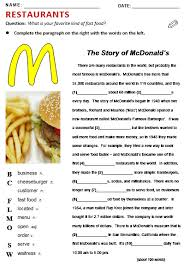 fast food all things topics