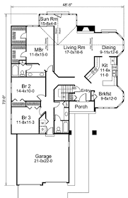 Ranch House Floor Plan 100 Best Ranch Floor Plans Bedroom Ranch House Plans 4