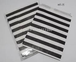 black and white striped gift bags aliexpress buy free shipping black horizontal stripe food