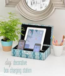 charging box decorative box charging station bigdiyideas com