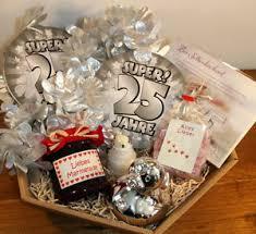 geschenke zum 25 hochzeitstag 25 silberhochzeit silberne hochzeit geschenke geschenkidee