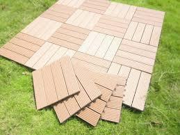 Flooring For Outdoor Patio Patio U0026 Outdoor Excellent Interlocking Deck Tiles For Nice