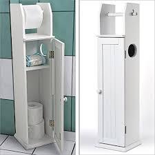 armadietto da bagno gallery of portarotolo armadietto da bagno in legno bianco wc