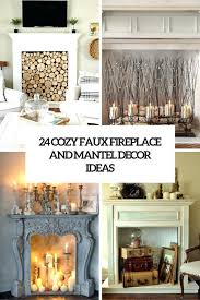 fireplace candle ideas photo albums catchy homes interior design