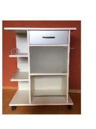 beistellwagen küche küchenwagen küchenregal weiß auf rollen servierwagen bestellen