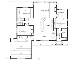 Large 1 Story House Plans House Plans With Large Living Rooms Medium Size Designed In Big Style