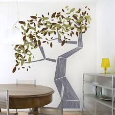 branches and trees modern tree wall graphic decal from layla