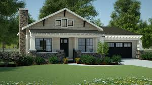 craftsman ranch plans plan 18267be simply simple one story bungalow bungalow