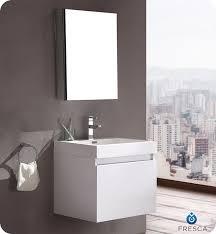 23 5 u201d fresca nano fvn8006wh white modern bathroom vanity w