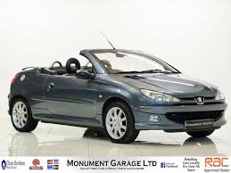 used peugeot 206 allure 1 6 cars for sale motors co uk