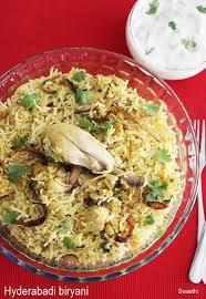 biryani cuisine hyderabadi biryani recipe restaurant style chicken dum biryani
