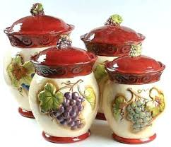 tuscan kitchen canisters sets tuscan kitchen canisters sets canisters certified int corp winery