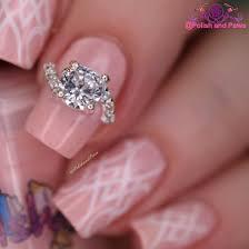 nail art silver rhinestone ring nail decoration polish and paws
