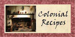 colonial quills colonial recipes authentic thanksgiving recipes