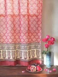Bright Red Sheer Curtains Best 25 Printed Curtains Ideas On Pinterest Floral Curtains