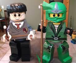 lego ninjago halloween costume lego harry potter u0026 green ninjago youth costumes 11 steps with