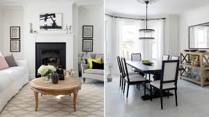 white interiors homes interior design tour a bright black and white family home