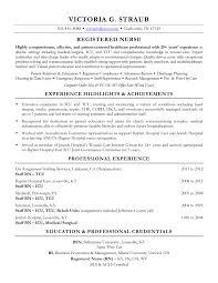 Charge Nurse Job Description Resume Sample Er Nurse Resume Resume Objective For Teaching Position