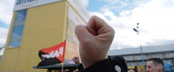 workers in germany italy stage black friday strike abc news