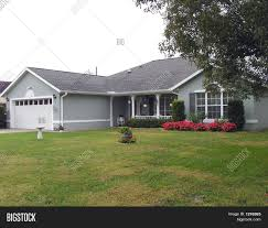 gray ranch home image u0026 photo bigstock