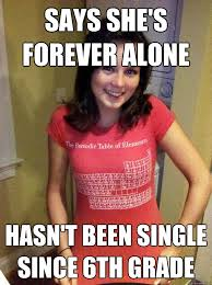 Single Girl Meme - dating since 6th grade i m dating someone