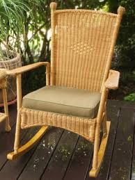 Resin Rocking Chair Advantages And Disadvantages Of Wicker Patio Furniture The