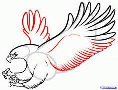2020 other images simple eagle wings drawing