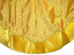 gold tree skirt tree skirts 48 gold tree skirt