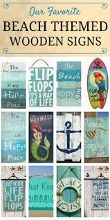 themed signs best wooden signs beachfront decor rustic modern