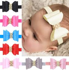 aliexpress buy 8 colors newborn luxe hair flower bows