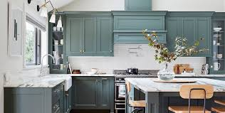 gray walls with stained kitchen cabinets kitchen cabinet paint colors for 2020 stylish kitchen