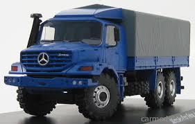 mercedes truck 6x6 schuco 07142 scale 1 43 mercedes zetros truck 6x6 blue grey