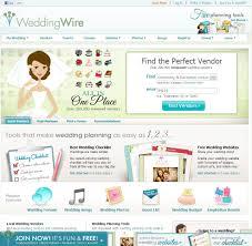 wedding vendor websites top 10 wedding websites home