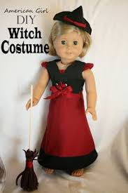 Halloween Costumes Dolls Simple Witch Broom Complete Dolls Costume