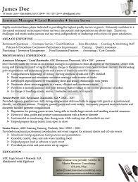 bartender resume format exle of bartender resume resume templates