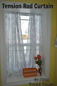 Curtain Rods For Inside Window Frame Hanging Curtains Inside Window Frame Eyelet Curtain Curtain Ideas