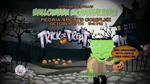 peoria halloween monster bash youtube