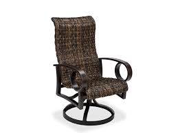 High Back Sling Patio Chairs by Fabulous High Back Patio Chair With Patio High Back Outdoor Chair