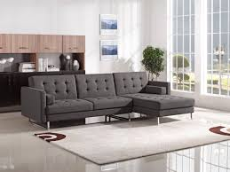 Modern Reclining Sectional Sofas by Sleeper Sofa Understand Leather Sectional Sleeper Sofa