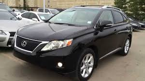 lexus rx black pre owned black 2010 lexus rx 350 awd ultra premium package review