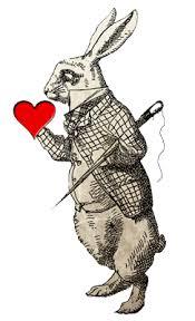 vintage rabbit rabbit heart vintage rabbitheartvint
