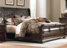 Brownstone Bedroom Furniture by Amazon Com Liberty Furniture Arbor Place Queen Sleigh Headboard