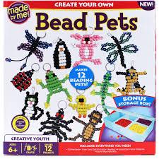 made by me bead pets craft kit by horizon group usa walmart com