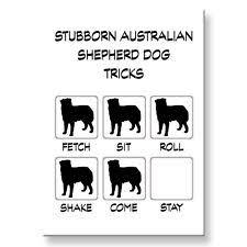 australian shepherd funny australian shepherd collectibles ebay