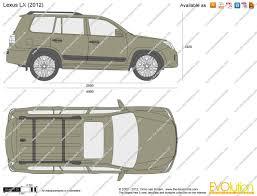 lexus minivan 2012 the blueprints com vector drawing lexus lx