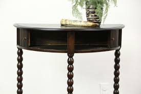 small half moon console table with drawer furniture console table furniture small and low oak with half moon